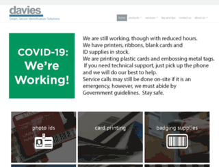 daviesenterprises.com screenshot