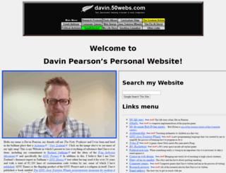 davin.50webs.com screenshot