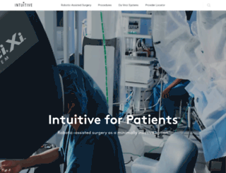 davincisurgery.com screenshot