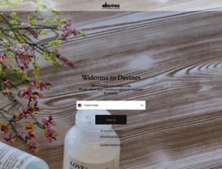 davines.com screenshot