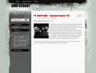 daviscooby.wordpress.com screenshot