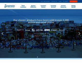 davison.com screenshot