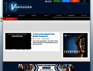 davisvanguard.org screenshot