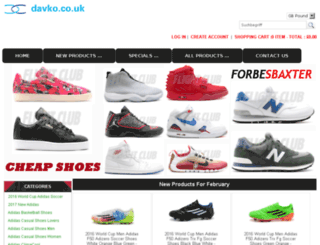 davko.co.uk screenshot