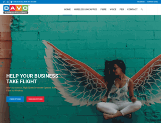 davo.co.za screenshot
