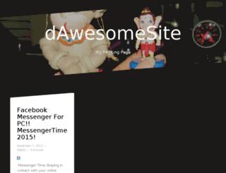 dawesomesite.myspan.in screenshot