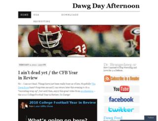 dawgdayafternoon.wordpress.com screenshot