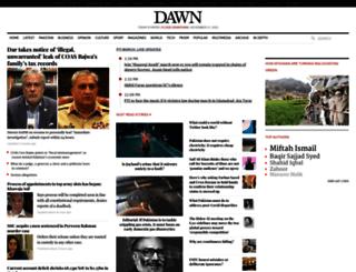 dawncompk.wordpress.com screenshot