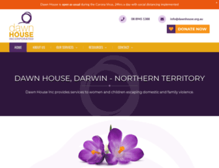 dawnhouse.darwinwebdesign.com.au screenshot