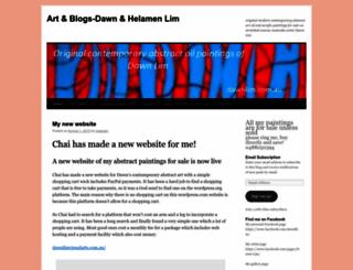 dawnllim.wordpress.com screenshot