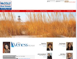 dawnveness.mccolly.com screenshot
