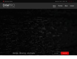 dawprodigital.co.za screenshot