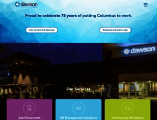 dawsoncareers.com screenshot