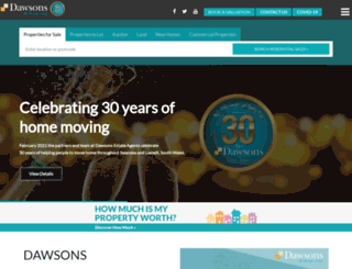 dawsonsproperty.co.uk screenshot