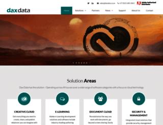 daxdata.co.za screenshot