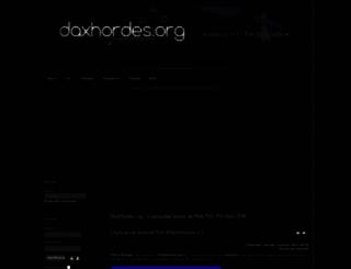 daxhordes.org screenshot