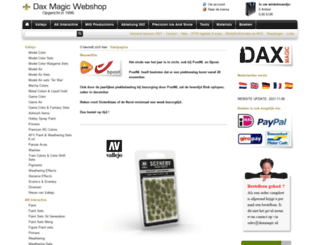 daxmagic-webshop.nl screenshot