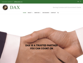 daxsafety.com screenshot