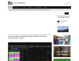 day-trader.pl screenshot