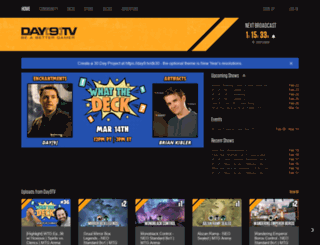 day9.tv screenshot