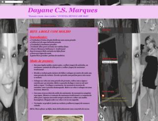dayanecsmarques.blogspot.com screenshot
