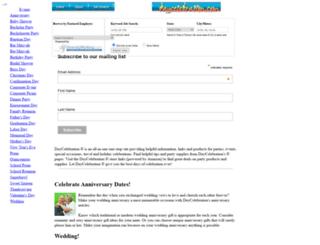 daycelebration.com screenshot