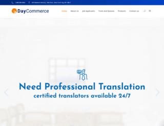daycommerce.com screenshot