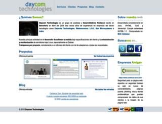 daycomtech.com screenshot
