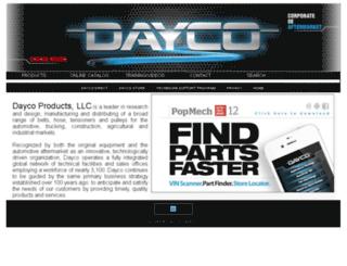 daycoweb.daycoproducts.com screenshot