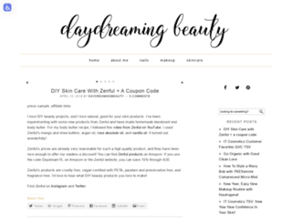 daydreamingbeauty.com screenshot