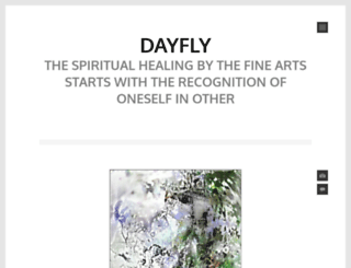 dayfly.wordpress.com screenshot