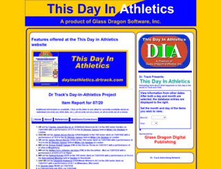 dayinathletics.drtrack.com screenshot