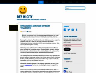 dayincity.wordpress.com screenshot