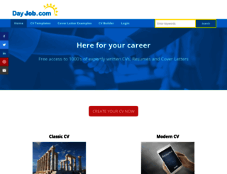 dayjob.com screenshot