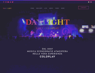 daylightband.it screenshot