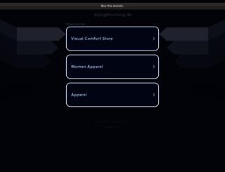 daylightrunning.de screenshot
