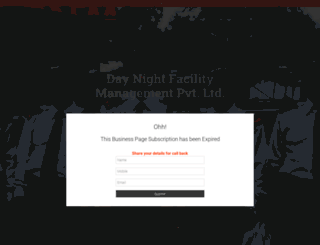 daynightfacility.com screenshot