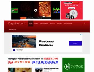 dayniile.com screenshot