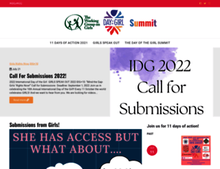 dayofthegirlsummit.org screenshot