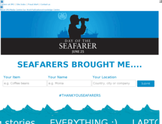 dayoftheseafarer2014.imo.org screenshot
