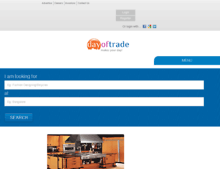 dayoftrade.com screenshot