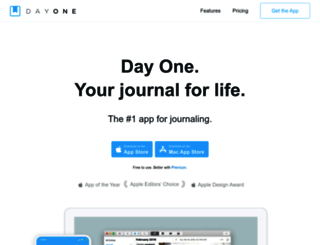 dayoneapp.com screenshot