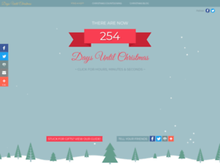 days-until-christmas.co.uk screenshot