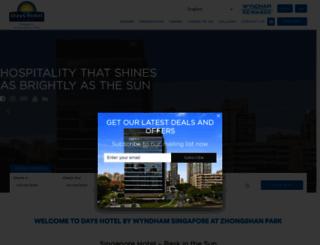 dayshotelsingapore.com screenshot