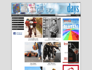 daysmagazine.com screenshot