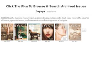 dayspamagazine.epubxp.com screenshot