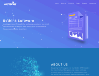 dayspringlabs.com screenshot