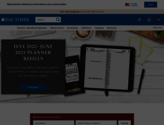 daytimer.com screenshot
