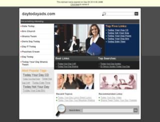 daytodayads.com screenshot