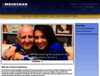 dayton-ombudsman.org screenshot